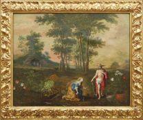 Brueghel, Jan d. J. und Frans Francken d. J. - Umkreis / Flandern, 17. Jh.Noli me tangereIn einer