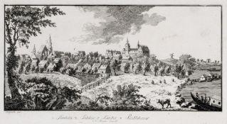 Friedrich Gottlob Schlitterlau, Strehla. Um 1760. Friedrich Gottlob Schlitterlau um 1730 Dresden –