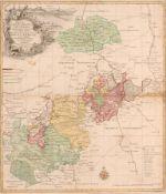 """Tobias Conrad Lotter """"Delineatio Geographica Specialis Territorrii Celsissimorum S. R. I. Comitum"""