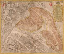 """Johann George Schreiber """"Budissin die Haupt und Sechs Stadt im Marggrafentthum"""". 1709. Johann George"""