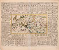 """Henri Abraham Chatelain """"Carte pour servir d'Introduction a l'Histoire Romaine et a celle de l'"""
