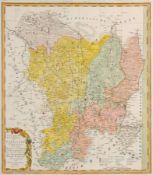 """Homanns Erben """"Geographisches Verzeichnis des Goerlitzer Creises mit dem Queiss-Creise"""". 1753."""