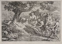 "Adrien Manglard ""Rémus und Romulus"". Mitte 18. Jh. Adrien Manglard 1695 Lyon – 1760 RomGiacomo Billy"