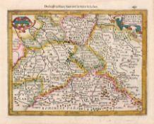Verschiedene Stecher, Sechs Karten zu Sachsen und der Lausitz. 16. Jh. -18. Jh. Abraham Ortelius