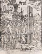 """Lucas Cranach d.Ä. """"Das Martyrium der zwölf Apostel"""". 1512. Lucas Cranach d.Ä. 1472 Kronach – 1553"""