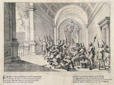Melchior Küsel, Fünf Szenen aus der Leidensgeschichte Christi. 2. H. 17. Jh. Melchior Küsel 1626