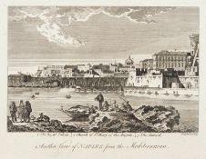 """Verschiedene englische Stecher, Fünf Blätter aus """"Barlows General History of Europe"""". Um 1790."""