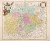 """Tobias Conrad Lotter """"Saxoniae Superioris"""". 1758. Tobias Conrad Lotter 1717 Augsburg – 1777"""
