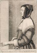 """Wenzel Hollar """"Autumne"""". Um 1640. Wenzel Hollar 1607 Prag – 1677 LondonKupferstich auf Bütten mit"""
