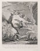 """Johann Elias Ridinger """"Frage doch die Vögel unter dem Himmel"""" / """"Verbirgest Du Dein Angesicht"""" 1749."""