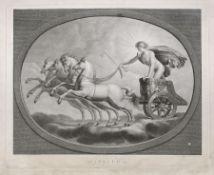 Stefano Tofanelli, Sieben Planetendarstellungen. Um 1800. Stefano Tofanelli 1752 Lucca – 1812
