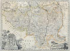 "Johann Christoph Weigel (Hrsg.) ""Lusatia superior"". Vor 1724. Johann Christoph Weigel 1654 – 1725 /"
