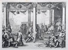 """Domenico Rossetti """"Ambasciadori spediti dal Senato all' Imperatore Federico […]"""". 1720. Domenico"""