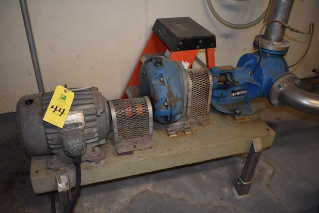 Lot 44 - Viking Model #LL125 Pump & Motor, RIGGING FEE $125