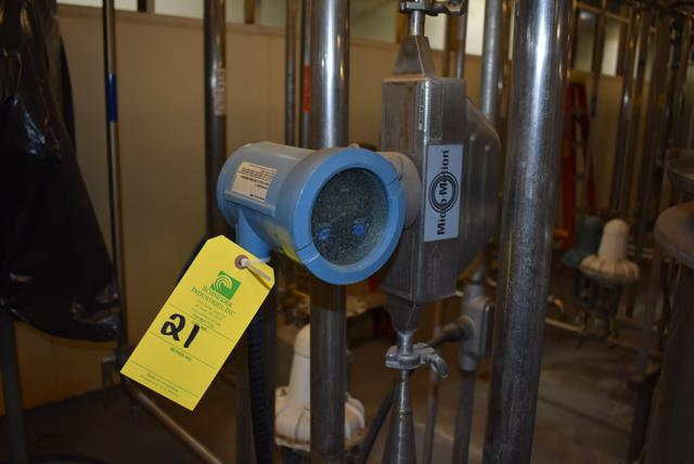 Lot 21 - Micromotion #HD25S12 Series Flow Meter, RIGGING FEE $50