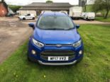 Lot 23 - Ford Eco Sport Titanium TDCI 2017 (NO VAT)