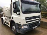 Lot 9 - White DAF Truck FAT CF75.360 + VAT