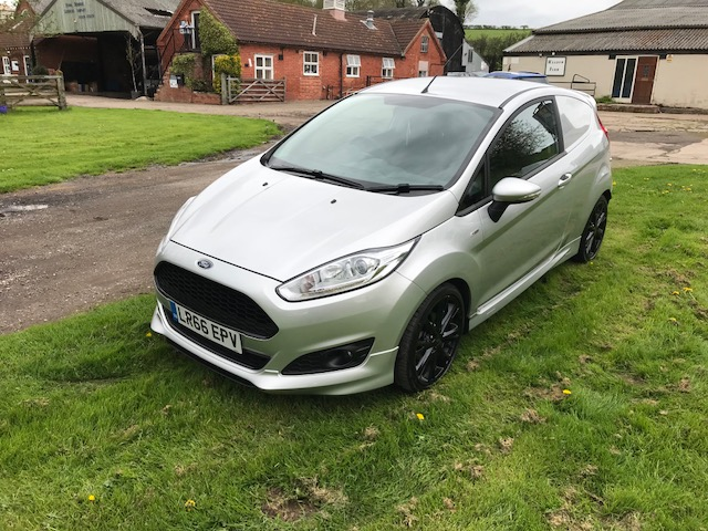 Lot 22 - Ford Fiesta Base TDCI - full ST line body kit (NO VAT)