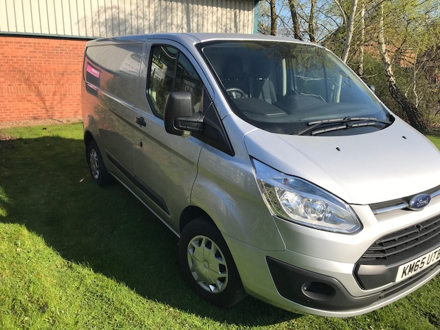 Lot 11 - Silver Ford Transit custom 290 Trend (NO VAT)