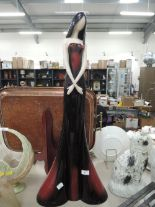 Lot 9 - A large vintage shop display figure model from the Leonardo collection
