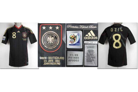 ff594d2cd World Cup 2010 match worn football shirt Germany - Original match worn shirt  Germany with number