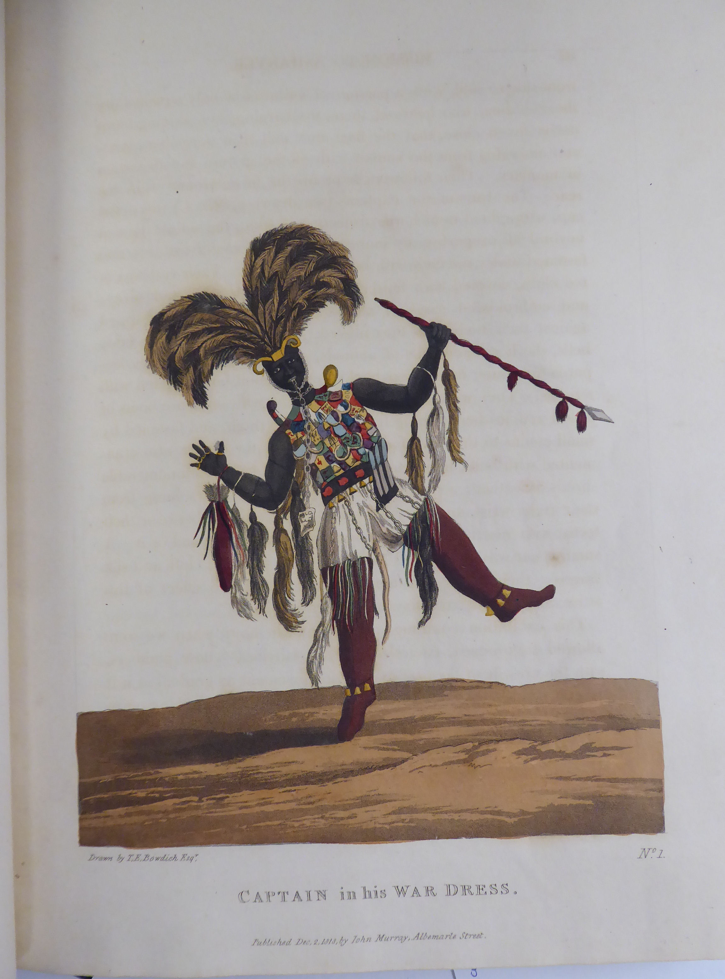 Lot 47 - Book: 'Mission from Cape Coast Castle to Ashantee' with a statistical account of that kingdom and