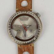Herrenarmband - El Valentin Italien, Si 925, rundes Gehäuse, Dca.4,2cm, silberfarbenes
