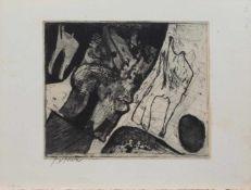 Johannes Gerardus Maria Postma (Haarlem 1933 -, niederländischer Grafiker u. Maler, Std. a.d.