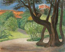 Eduard Hartung (Spengarsken/ Pommern 1856 - 1939 Jena, deutscher Landschaftsmaler u.