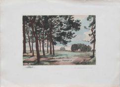 Hans Tiburtius (Berlin 1892 - 1958 Berlin, deutscher Maler u. Graphiker, Std. a.d. Kunstschule