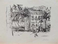 Eylert Spars (Hamburg 1903 - 1984 Seevetal, deutscher Maler, Grafiker u. Zeichner, Std. a.d.