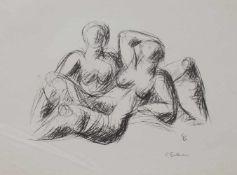 Curt Beckmann (Solingen 1901 - 1970 Düsseldorf, deutscher Bildhauer, Std. a.d. KA Düsseldorf,