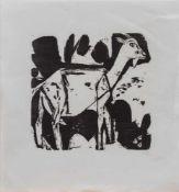 Willi Titze (1890 - 1979, deutscher Radierer u. Holzschneider, Vertreter des Primitivismus, lebte u.