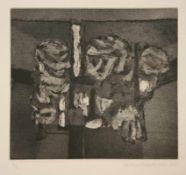 Hans Sperschneider (Jena 1928 - 1995 Hamburg, deutscher Landschaftsmaler und Graphiker, Std. in