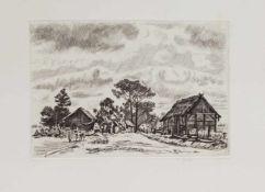 Wilhelm Giese (Horn/ Lippe 1883 - 1945 Wegeleben, deutscher Maler, Zeichner u. Radierer, Std. a.d.