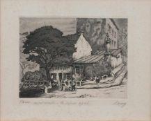 Maurice La Bany (zugeschr.) (französischer Maler u. Grafiker d. 1. Hälfte d. 20. Jh.) Paris -