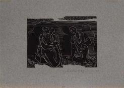 Walter Bergmann (Köln 1904 - 1965, deutscher Maler u. Grafiker, erste Studien in Offenbach, später