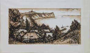 Helmut Maletzke (Neustettin 1920 -, deutscher Maler, Grafiker u. Schriftsteller, Jurastudium u. d.