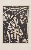 Anton Wolff (Köln 1911 - 1980 Köln, deutscher Grafiker u. Kunstprofessor, Std. bei Ahlers-