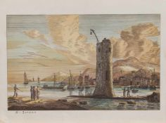 Regnier Nooms alias Reinier Zeeman (Amsterdam 1623 - 1664 ebenda, niederländischer Marinemaler u.