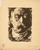 Franz Heinrich Lovis Corinth (Tapiau 1858 - 1925 Zandvoort, deutscher Maler, Std. a.d. AK Königsberg