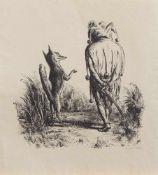 A. Paul Weber (Arnstadt 1893 - 1980 Schretstaken, deutscher Lithograf, Zeichner u. Maler, Ausbildung