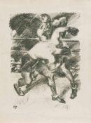 Gino von Finetti (Pisino d` Istria 1877 - 1955 Gorizia, italienischer Maler, Grafiker u. Zeichner,
