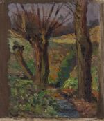 Prof. Hans Lindner (Zschopau 1883 - 1944 Schwerin, deutscher Maler, Std. a.d. AK Dresden u.