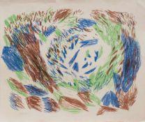 Sigried Kopfermann (Berlin 1923 - 2011 Düsseldorf, deutsche Malerin u. Grafikerin, Std. a.d. HS f.