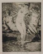 Walter Richard Rehn (Dresden 1884 - 1951 ebenda, deutscher Maler, Grafiker u. Radierer,