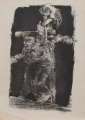 Bernhard Heisig (Breslau 1925 - 2011 Leipzig, deutscher Maler, Zeichner, Illustrator u. Grafiker,