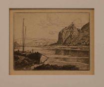 Karl Quarck (Rudolstadt 1869 - 1950 Dresden, deutscher Maler u. Grafiker, Std. a.d.