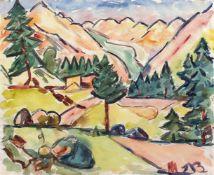 Rolf Diener (Gössnitz 1906 - 1988 Hamburg, deutscher Maler u. Grafiker, Schüler v. Arthur Illies, am