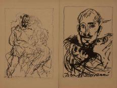 Armin Münch (Dresden 1930 - 2013 Rostock, Zeichner, Maler u.Grafiker, Std. a.d. HS f. Bildende